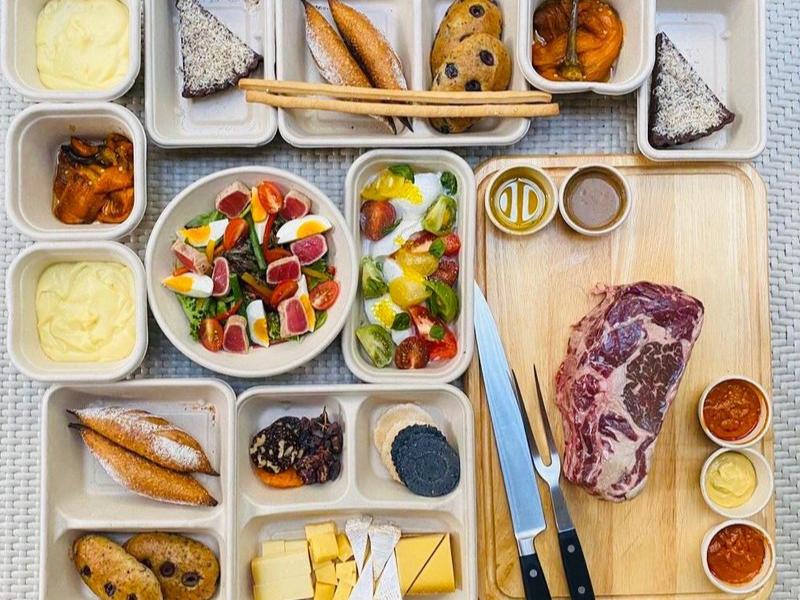 Raffles Hotel Food Delivery 2020